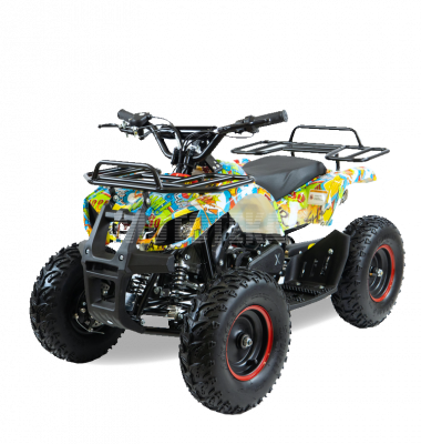 Детский квадроцикл Motax (Мотакс) ATV Mini Grizlik X-16 [мех] Big Wheel (машинокомплект)